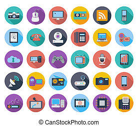 artikelen & hulpmiddelen, icons.