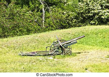 Artillery cannon - Old army artillery cannon