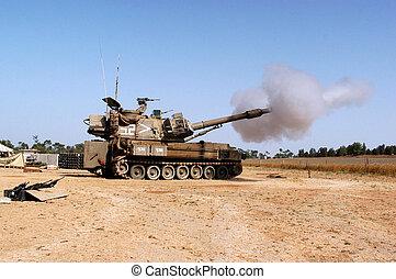 Artillery Corps - Israel - NACHAL OZ , ISR - JULY 06:Israeli...