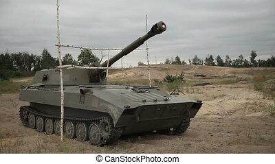 Artillery preparation for shooting