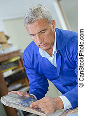 artisan at work