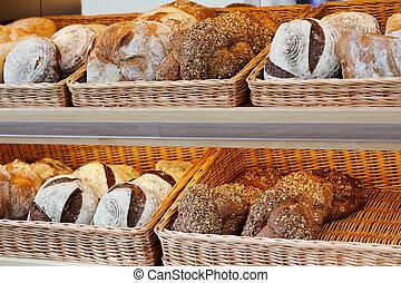 Artisan Bread On The Shelves