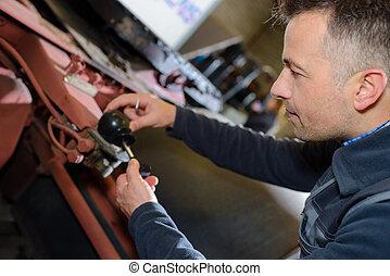 artisan working in workshop