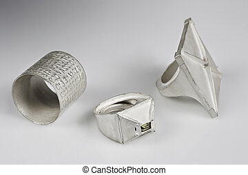 artisanal silver rings