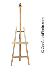 Artist easel isolated - High quality artist easel isolated...