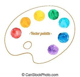Artist palette.