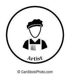 artista, icona