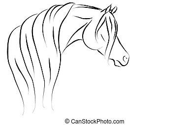 Arabian horse Illustrations and Clipart. 1,649 Arabian ...
