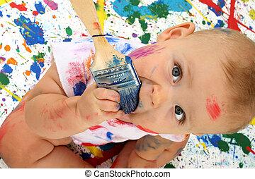 Artistic Baby