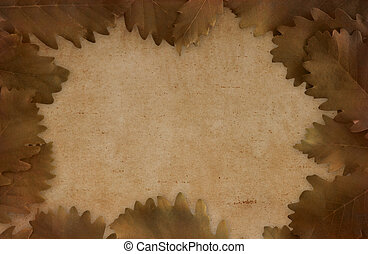 Artistic brown background