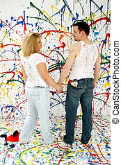 Artistic Couple