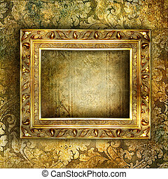 Artistic Decorative Background With
