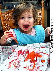 Artistic Endeavor by Toddler