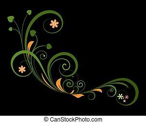 Artistic Flourish Design Elements