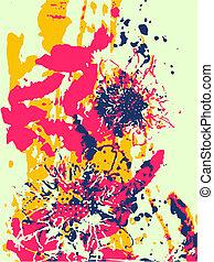 artistic flower illustration