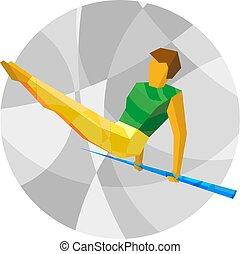 Artistic Gymnastics - Horizontal bar