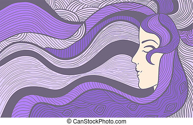 Artistic illustration - Hand drawn abstract vector...