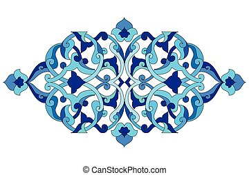 artistic ottoman pattern series six - Inspired by the...