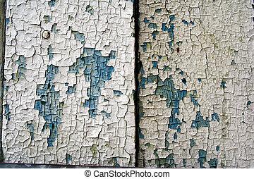 Artistic paint cracks