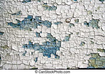 Artistic paint cracks pattern