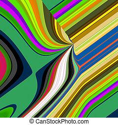 Artistic Retro Funky Background Graphic
