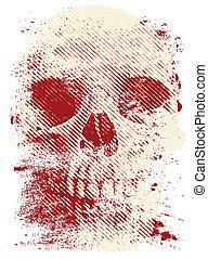 Artistic skull