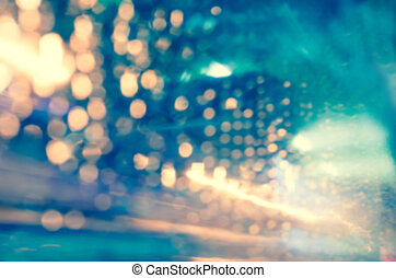 Artistic style - Defocused urban abstract texture background...