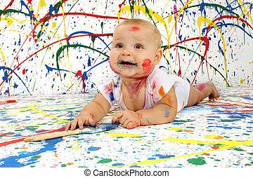 artisticos, bebê