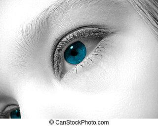 artistiek, oog