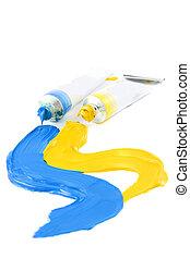 artist\'s, colorito, vernici