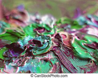 artist's, colours.