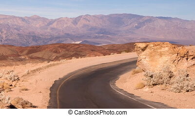 Artist's Drive Side Road Perfect Day Death Valley National...