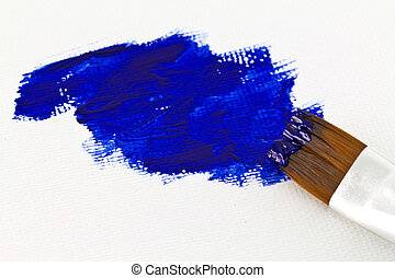 Artists paint brush