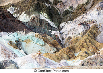 Artists Pallette at Death Valley - The Artists Pallette on ...
