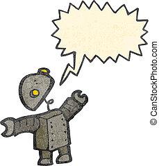 artoon, ロボット, ∥で∥, スピーチ泡