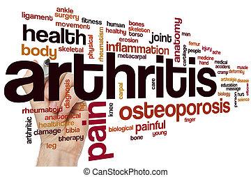 artrite, parola, nuvola