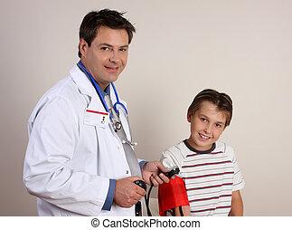 arts, bloeddruk