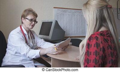 arts, diagnoses, een, patiënt