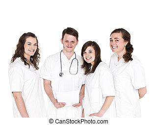 arts, en, verpleegkundigen