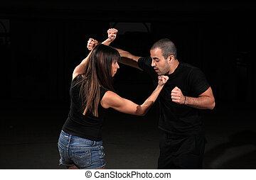 arts martiaux, instructeur