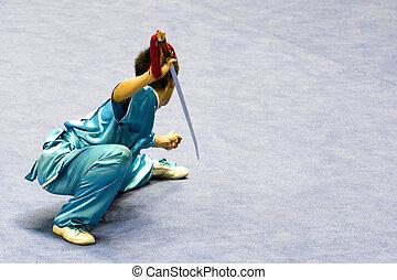 arts martiaux, (wushu), chinois
