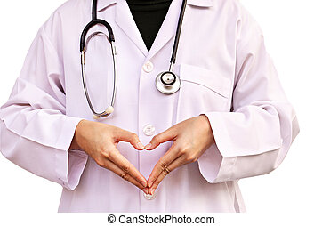 arts, met, een, stethoscope