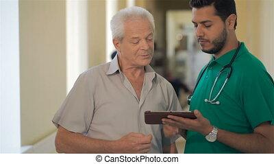 arts, optredens, iets, op, zijn, tablet, om te, hogere mens