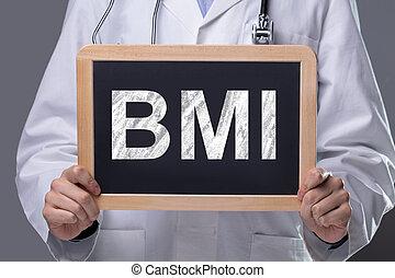 arts, tekst, lei, vasthouden, fout, mannelijke , medisch