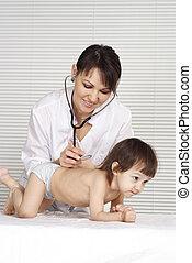 arts, vrouwelijk kind