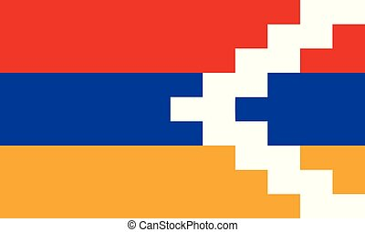 artsakh, εθνική σημαία