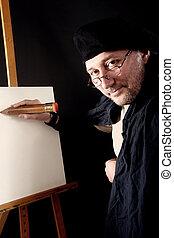 artysta portretu