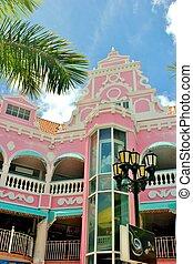 Aruba architecture - Caribbean architecture in Oranjestad
