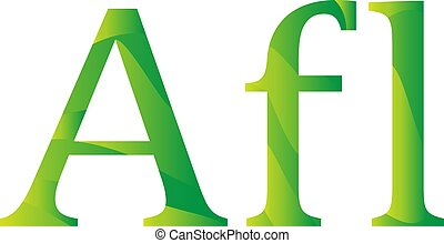 Aruba florin currency symbol icon vector illustration on a white background