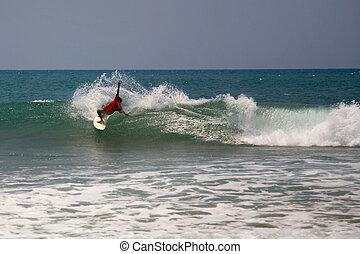 arugam, lanka, surfen, bucht, sri